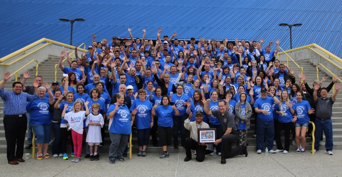South California - Feeding the Special Olympics Mission